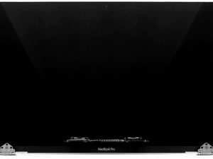 Display Assembly, Silver for Apple MacBook Pro 15-inch Retina Touch A1990(Mid 2018 -Mid 2019)